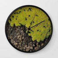 peru Wall Clocks featuring 5000m // Peru by Memento Mori Studio
