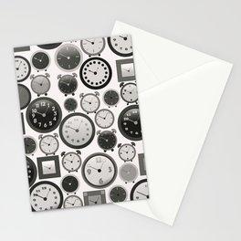 Vintage Clocks Stationery Cards