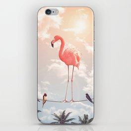 FLAMINGO & FRIENDS iPhone Skin