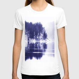 Painted scene T-shirt