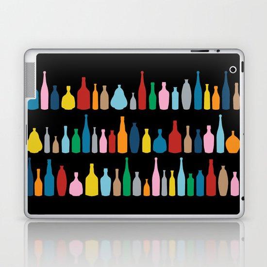 Black Bottle Multi Laptop & iPad Skin