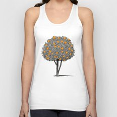 Orange Tree Unisex Tank Top