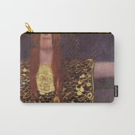 Pallas Athena Gustav Klimt Carry-All Pouch