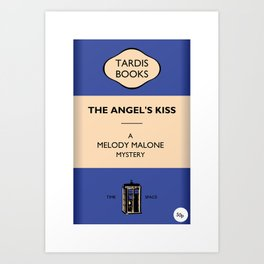 The Angel's Kiss Art Print