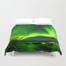 Northern Lights Aurora Borealis Duvet Cover