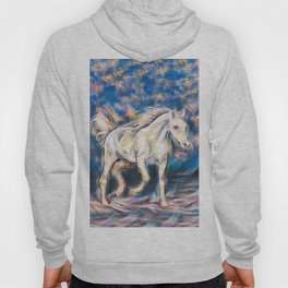 Wild Horse. Horse of Freedom and Solitude Hoody
