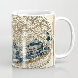 World Map 1482 Coffee Mug