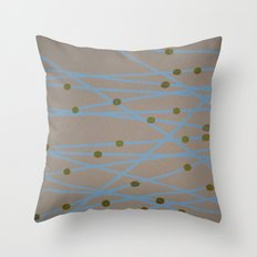 Screen Print design Throw Pillow