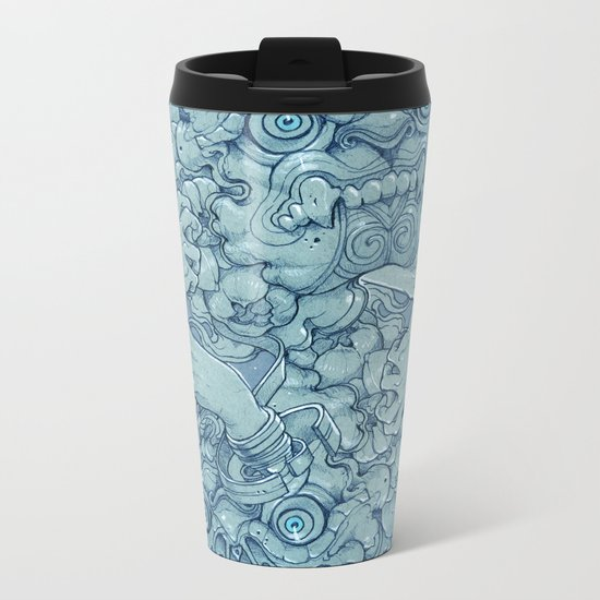 Stone guard Metal Travel Mug