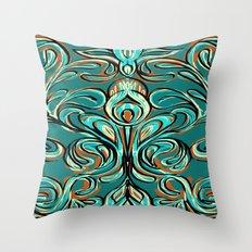 swirls Throw Pillow