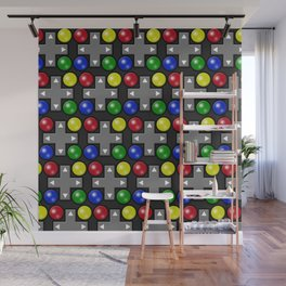 Fun and Games Wall Mural