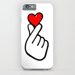 KPOP HEART LOVE iPhone Case