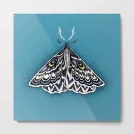 Moth Horns Metal Print