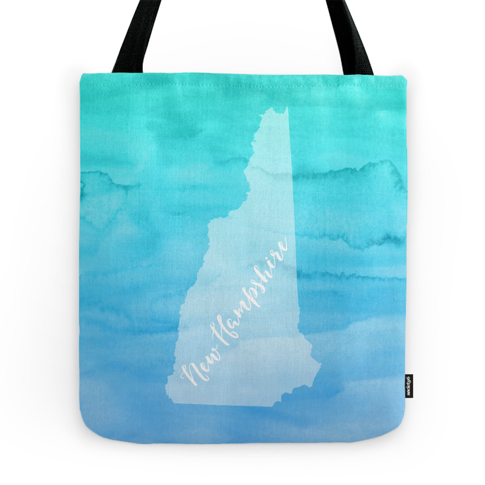 Sweet Home New Hampshire Tote Purse by tineandshell (TBG7444386) photo