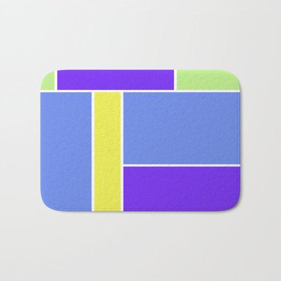 Abstract #461 Bath Mat