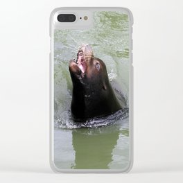 Gimme Fish...NOW Clear iPhone Case