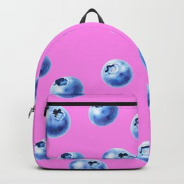 blueberry pink Backpack
