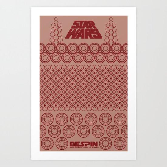 Star Wars- Bespin Art Print