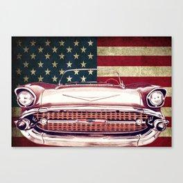 Chevrolet Bel Air 1957 Canvas Print