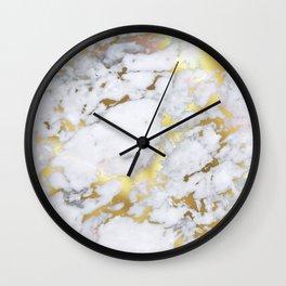 Original Gold Marble Wall Clock