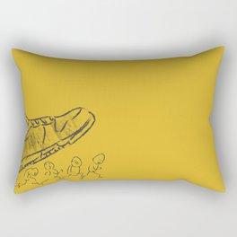 Giant shoe Rectangular Pillow