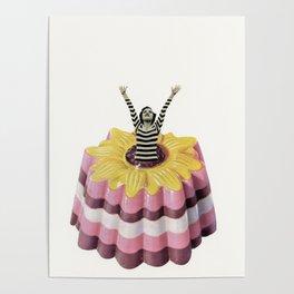 Blancmange Surprise Poster