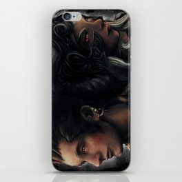 Balthier and Fran Final Fantasy 12 Portraits iPhone Skin