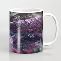 coconut wishes Mugs featuring Coconut Tree by Sarah Maurer