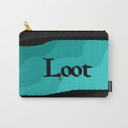 Loot: Color Sky-Blue Carry-All Pouch