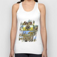 wildlife Tank Tops featuring Wildlife by Karl-Heinz Lüpke