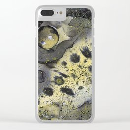 Viruses in space Clear iPhone Case