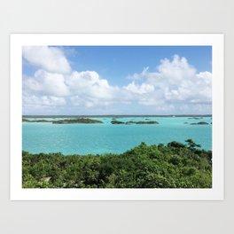 Turks & Caicos Bayside  Art Print