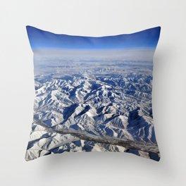 Earth I Throw Pillow