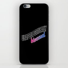 Unapologetically Bisexual iPhone Skin