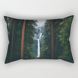 Yosemite Falls - Yosemite National Park, California Rectangular Pillow
