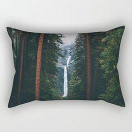 Yosemite Falls - Yosemite National Park, California Rectangular Pillow
