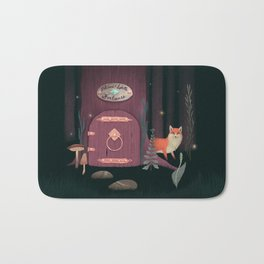 Sorcerer Of Woodland Charms Potions Spells And Fortunes Bath Mat