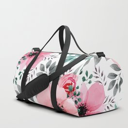 FLOWERS WATERCOLOR 14 Duffle Bag