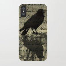 Dark Reflections iPhone X Slim Case