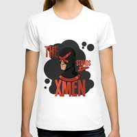 xmen T-shirts featuring The X stands 4 XMEN by JakbTIME