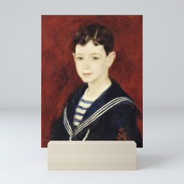 12,000pixel-500dpi - Pierre-Auguste Renoir - Fernand Alphen Enfant - Digital Remastered Edition Mini Art Print