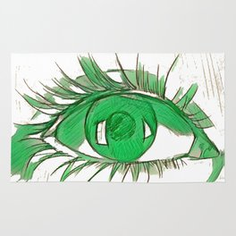Look of Green Radiance Rug