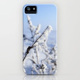 grass and plants iPhone Case