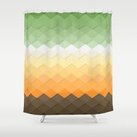 zen Shower Curtains featuring Zen by Kakel