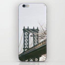 Williamsburg Bridge Views iPhone Skin