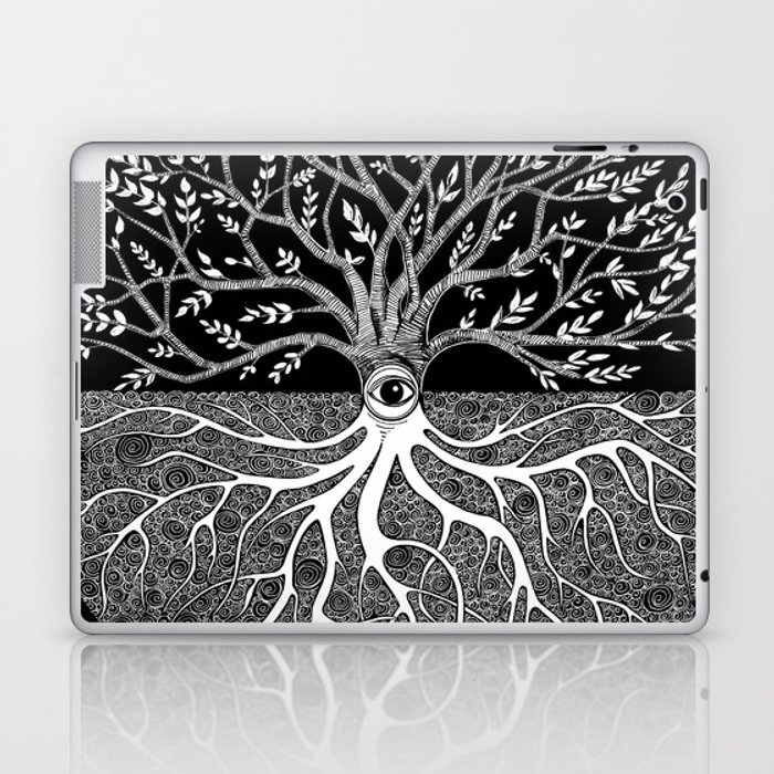 Druid Tree of Life Laptop & iPad Skin