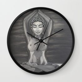 Karmic Battle Wall Clock