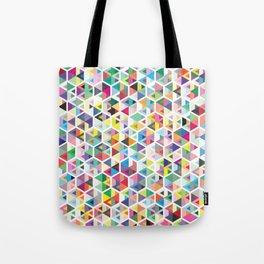 Cuben Colour Craze Tote Bag