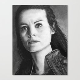 Lady Sif Canvas Print
