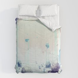 Edge of the Earth Comforters